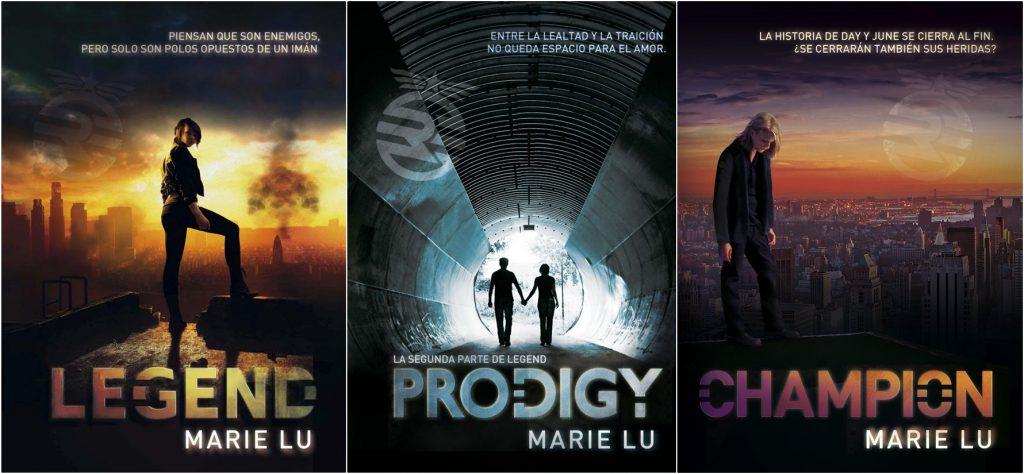 Reseña de la trilogía Legend de Marie Lu