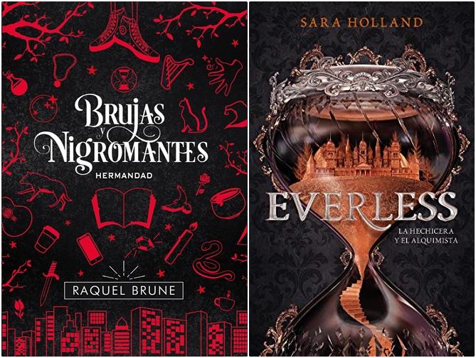 Reseñas: Brujas y nigromantes y Everless