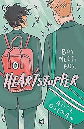 [El Vergel Inglés] Heartstopper 1, 2 y 3 de Alice Oseman
