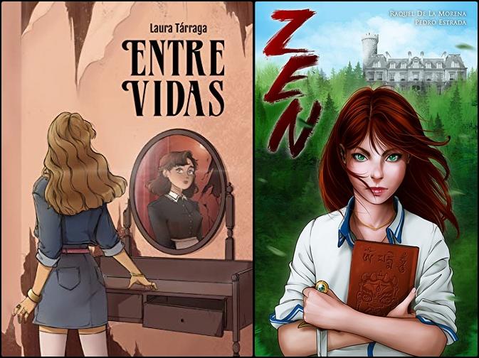 Reseñas: Entre vidas de Laura Tárraga y Zen de Raquel de la Morena y Pedro Estrada
