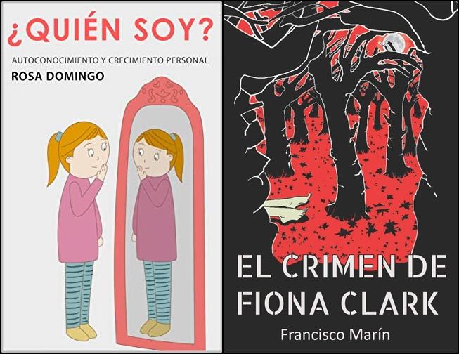 Reseñas: ¿Quién soy? de Rosa Domingo y El crimen de Fiona Clark de Francisco Marín