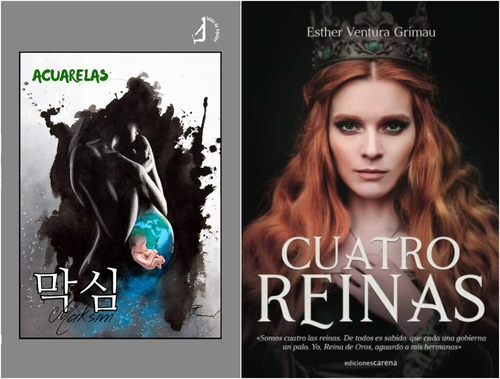 Reseñas: Acuarelas, de Maksim Makarov | Cuatro reinas, de Esther Ventura