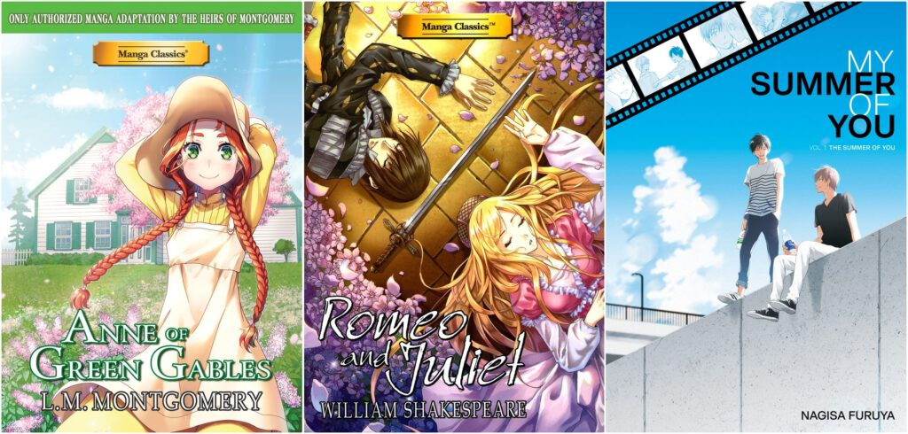 [El Vergel Inglés] Manga Classics: Anne of Green Gables y Romeo And Juliet | My summer of you